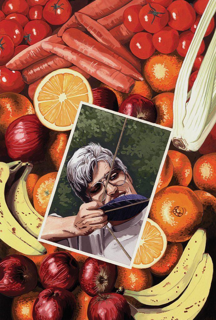 Bananas – Strangehaven #5 cover ©1996 Gary Spencer Millidge