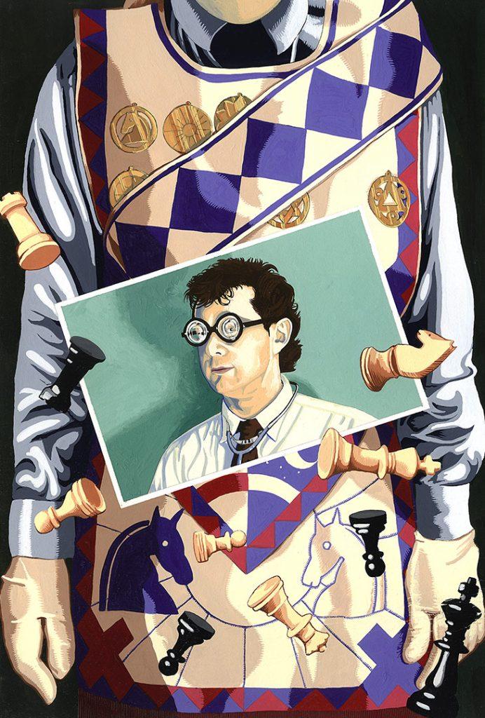 Checkmate – Strangehaven #6 cover ©1997 Gary Spencer Millidge