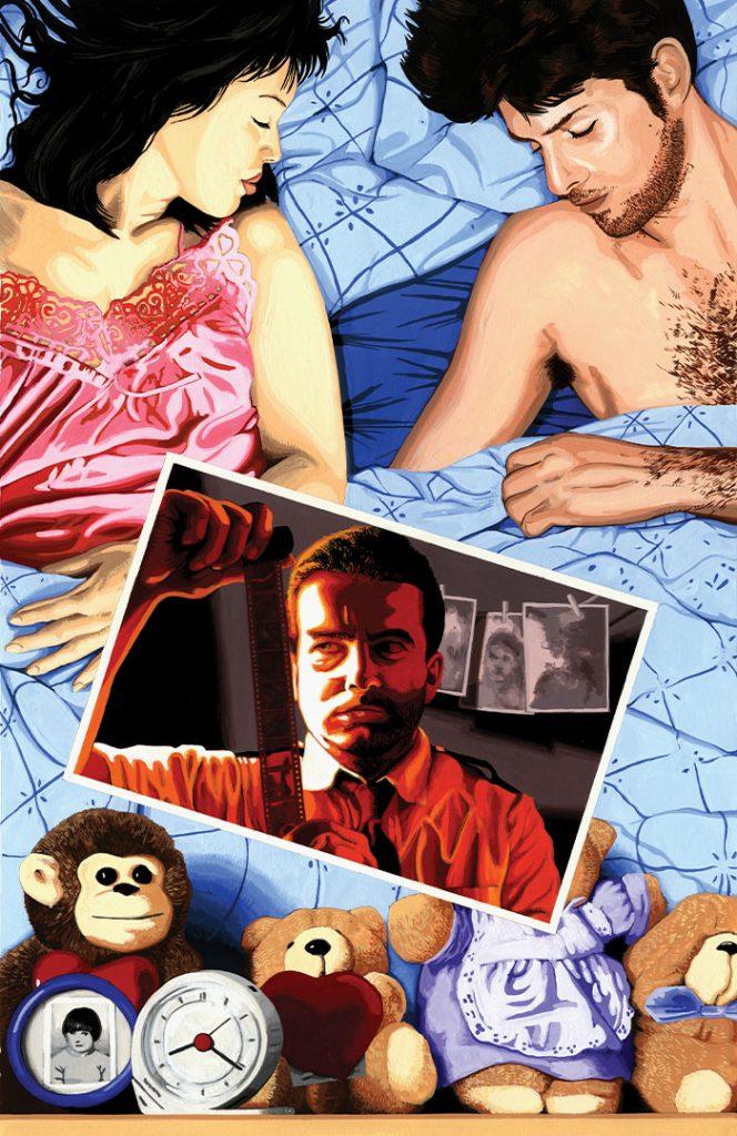 Developing Story – Strangehaven #9 cover ©1998 Gary Spencer Millidge