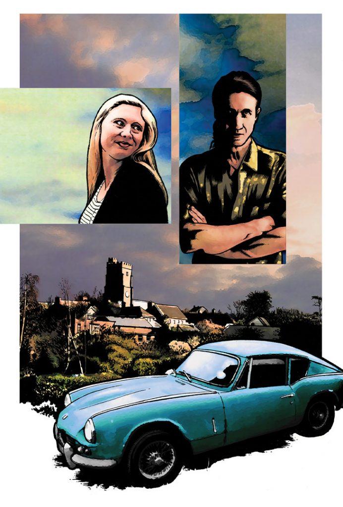 Strangehaven Arcadia Akileos French Edition cover ©2005 Gary Spencer Millidge