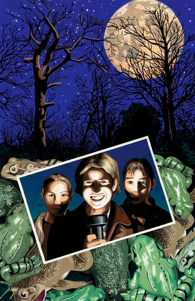 Frog Forest – Meanwhile #4 vol 1 cover ©2001 Gary Spencer Millidge