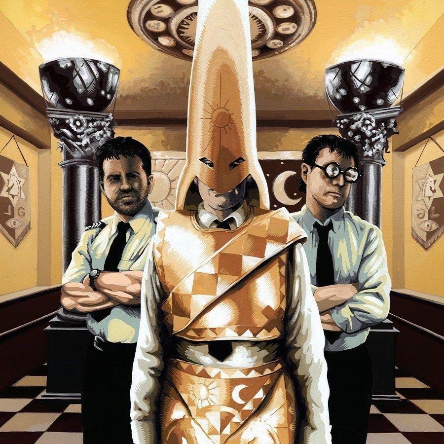 Golden – Strangehaven Conspiracies cover ©2005 Gary Spencer Millidge
