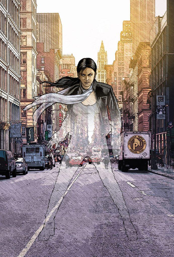 Heroes Godsend #4 cover by Gary Spencer Millidge ©2016 Titan Comics/NBC