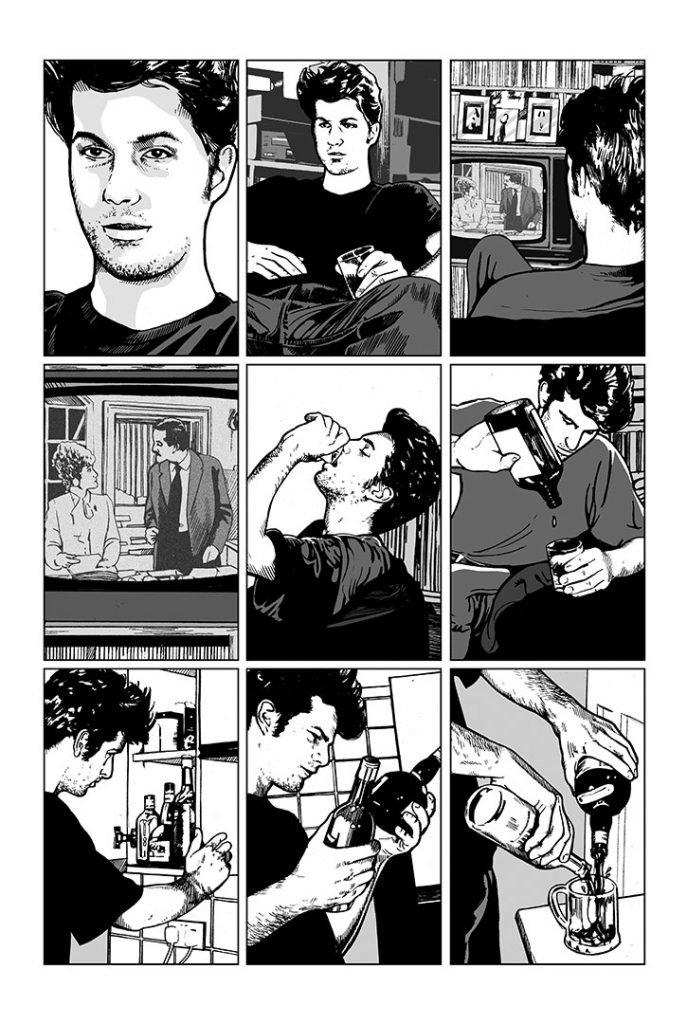 Strangehaven #11 page Q ©1999 Gary Spencer Millidge