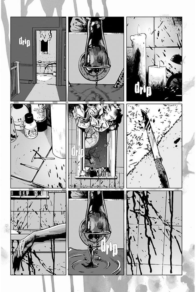 Strangehaven #12 page U ©1999 Gary Spencer Millidge