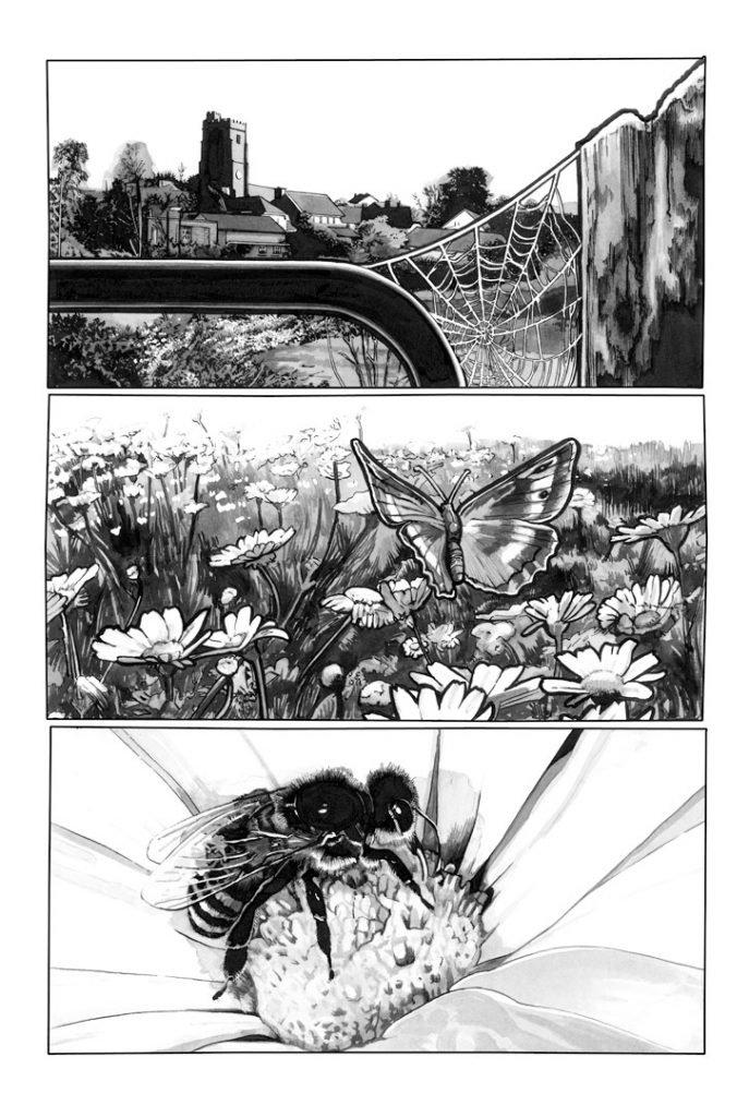 Strangehaven #13 page A ©2001 Gary Spencer Millidge