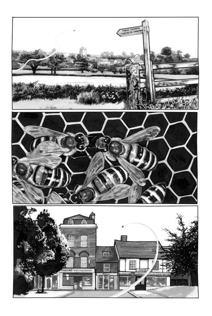 Strangehaven #13 page B ©2001 Gary Spencer Millidge