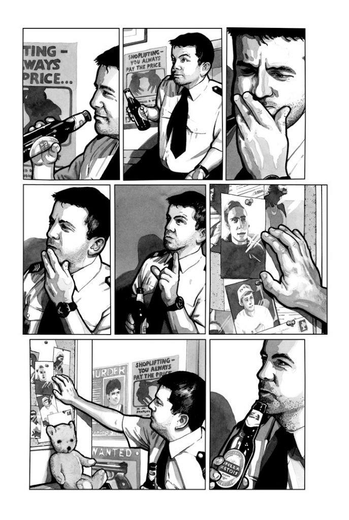 Strangehaven #15 page F Elementary ©2003 Gary Spencer Millidge