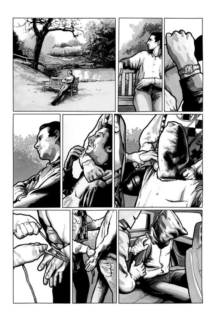Strangehaven #15 page Q Kidnapped ©2003 Gary Spencer Millidge