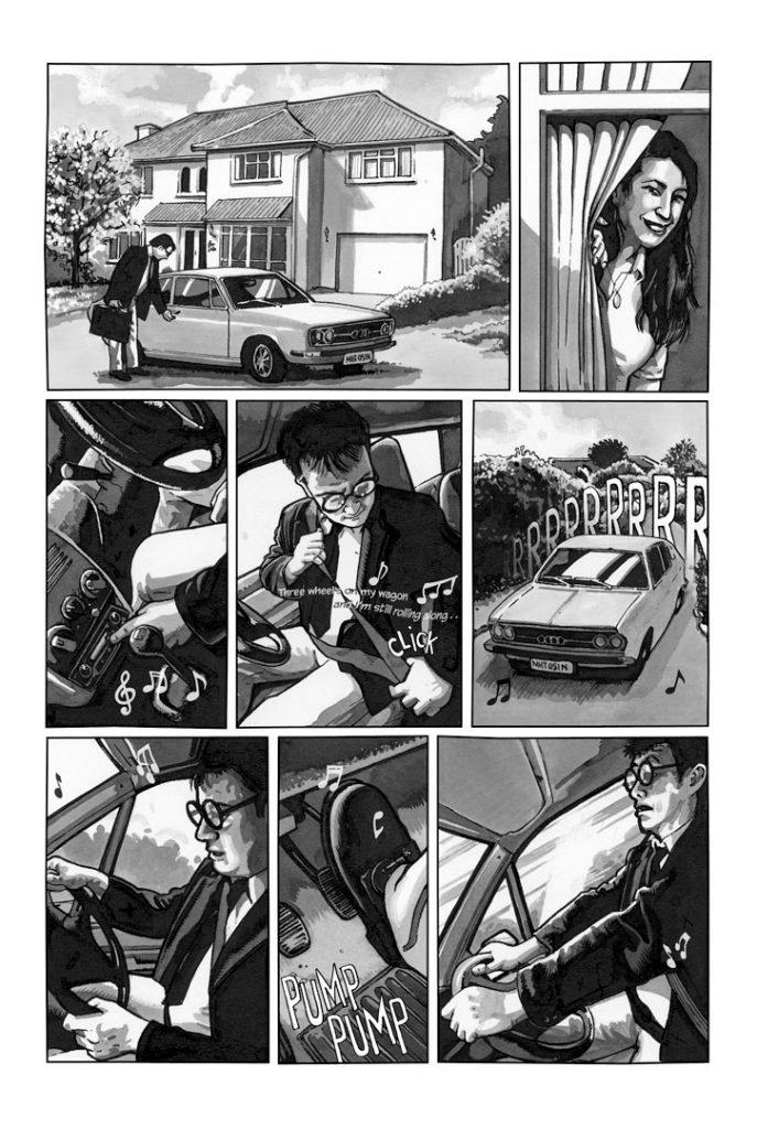 Strangehaven #17 page 21 Three Wheels on my Wagon ©2005 Gary Spencer Millidge