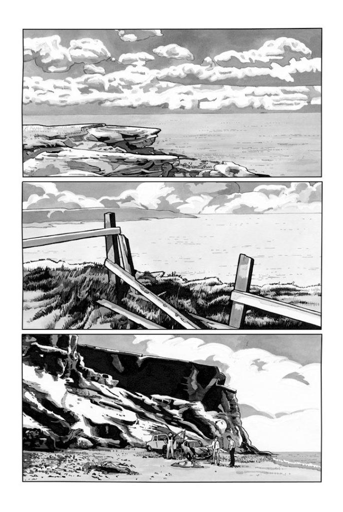 Strangehaven #18 page 01 Crash Site ©2005 Gary Spencer Millidge