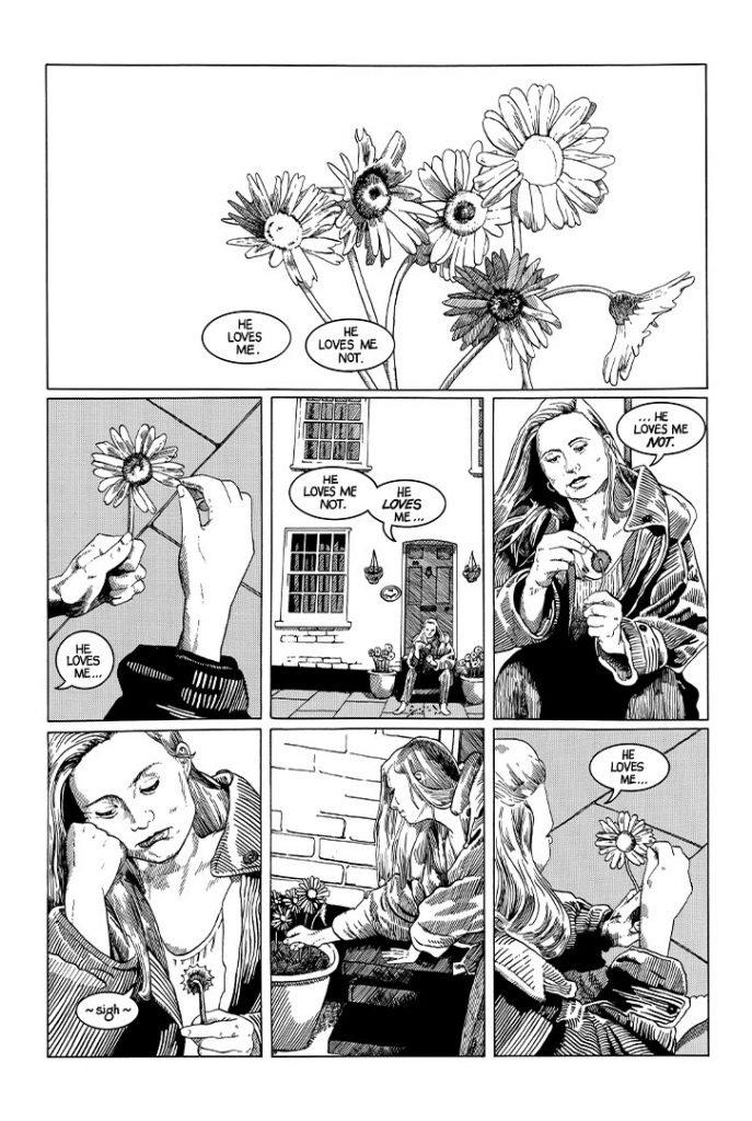 Strangehaven #2 page 01 ©1995 Gary Spencer Millidge