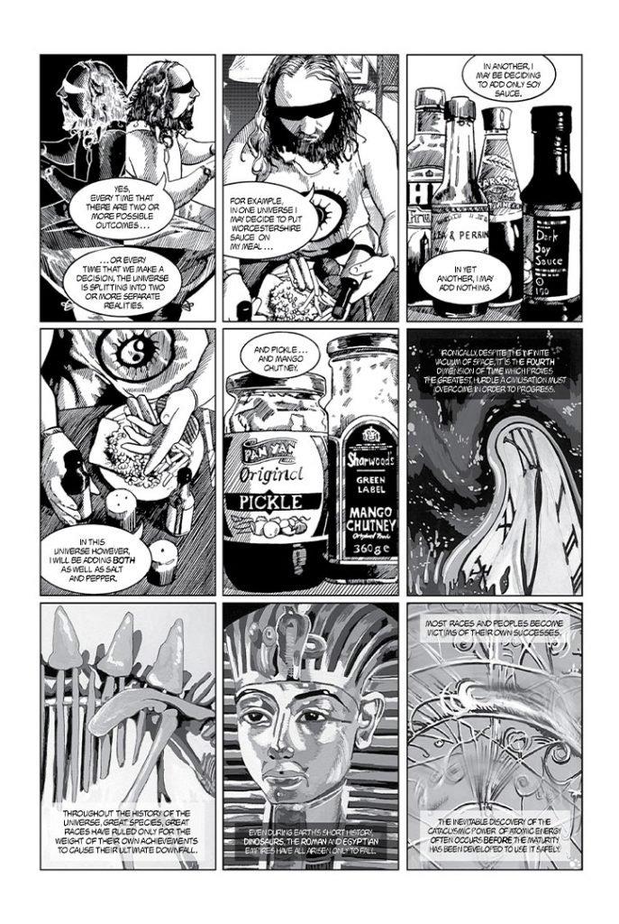 Strangehaven #3 page M ©1995 Gary Spencer Millidge