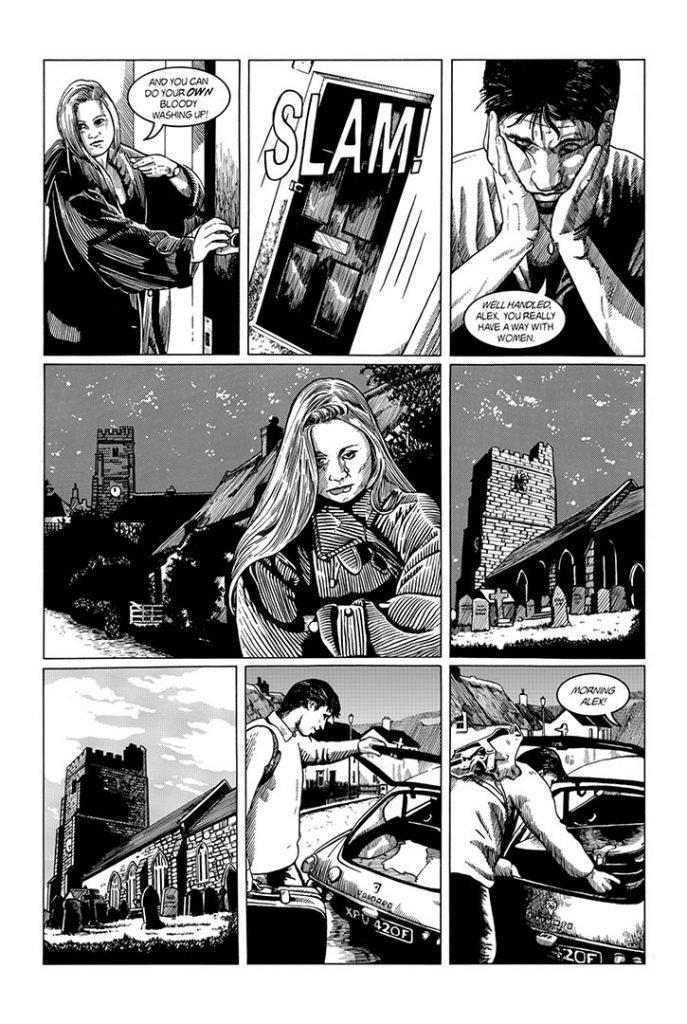 Strangehaven #5 page W ©1996 Gary Spencer Millidge