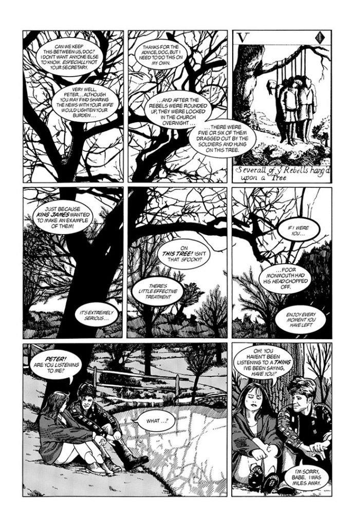 Strangehaven #6 page D ©1997 Gary Spencer Millidge