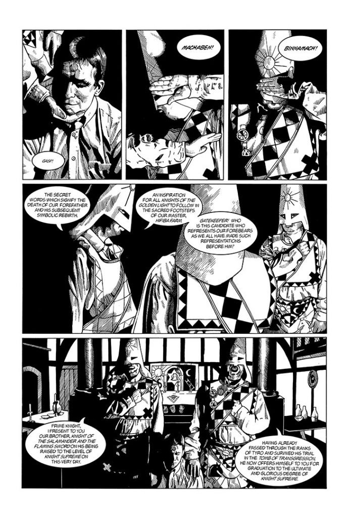 Strangehaven #6 page M ©1997 Gary Spencer Millidge
