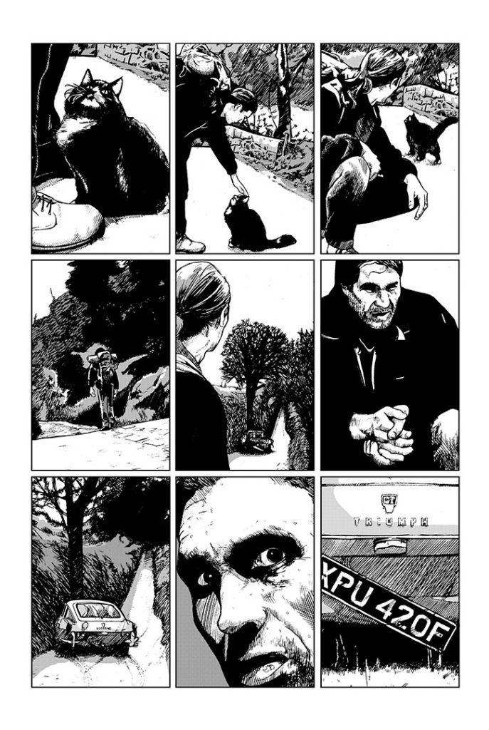 Strangehaven #7 page 13 ©1997 Gary Spencer Millidge
