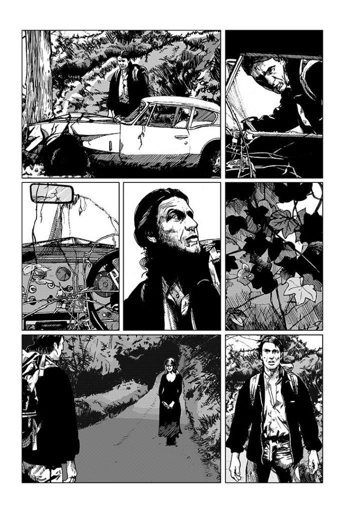 Strangehaven #7 page 14 ©1997 Gary Spencer Millidge