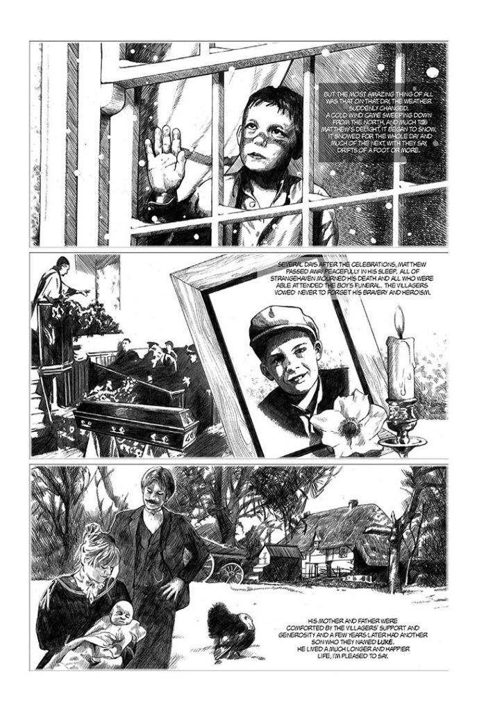 Strangehaven #8 page 15 ©1997 Gary Spencer Millidge