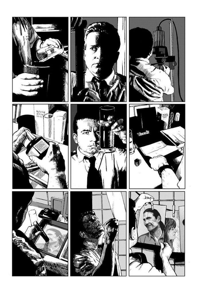 Strangehaven #9 page 08 ©1998 Gary Spencer Millidge