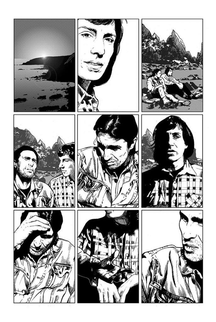 Strangehaven #9 page 11 ©1998 Gary Spencer Millidge