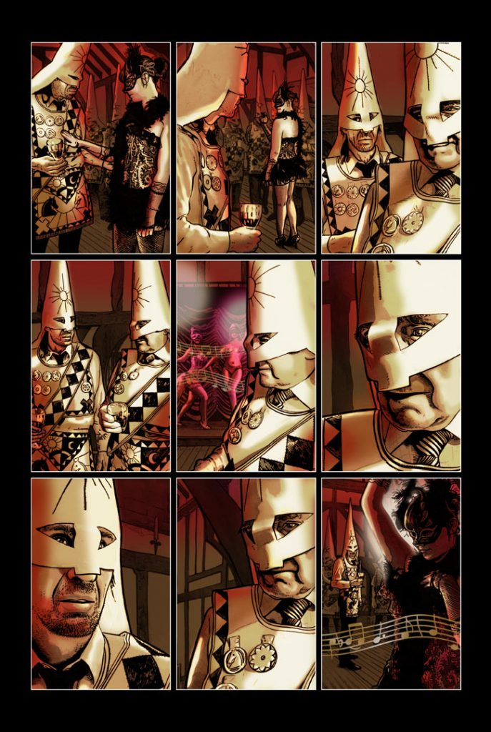 Strangehaven Destiny episode 01 page 04 Entertainments ©2014 Gary Spencer Millidge