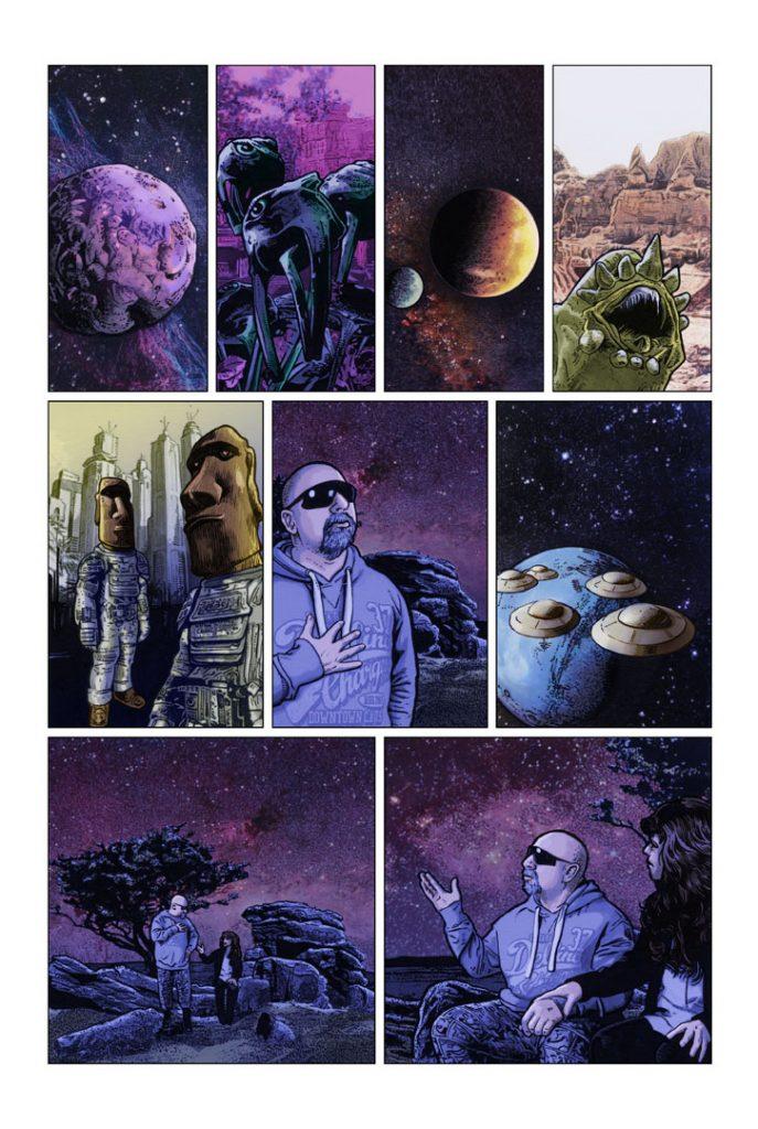 Strangehaven Destiny episode 02 page 04 Monsters ©2015 Gary Spencer Millidge